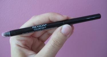 Revlon ColorStay Black eyeliner V's on Fleek blogger Panama