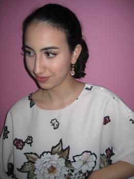 Makeup tutorial V's on Fleek blogger Panama