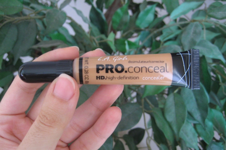 V's on Fleek L.A. Girl HD Pro Conceal in Warm Honey GC982 blogger Panama.JPG